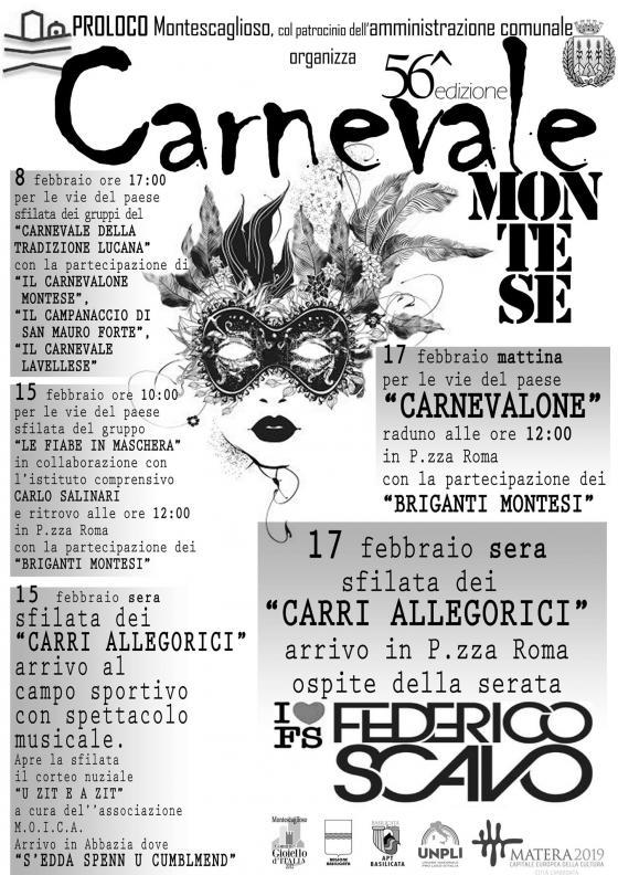 Carnevale di Montescaglioso Montese